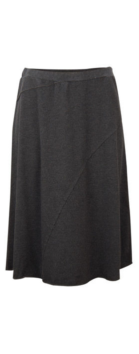 Sandwich Clothing Brushed Jersey Skirt Black
