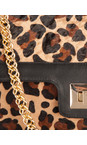 Leopard Print Leather Bag additional image