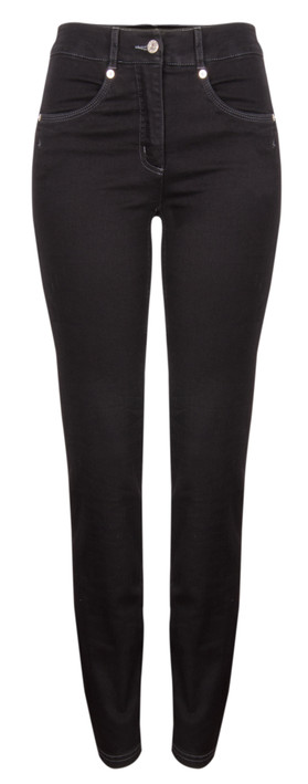 Robell Trousers Star Jean Black