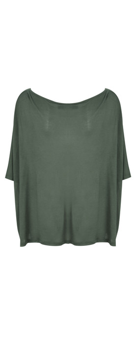 Join Clothes  NEW - Leto Tetragoni Short Blouse Olive