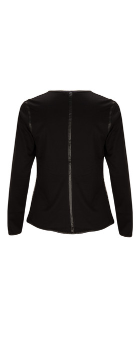 Sandwich Clothing Structured Cotton Jacket Black