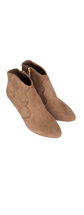Ash gang ankle boot in taupe - Gang grijze taupe ...