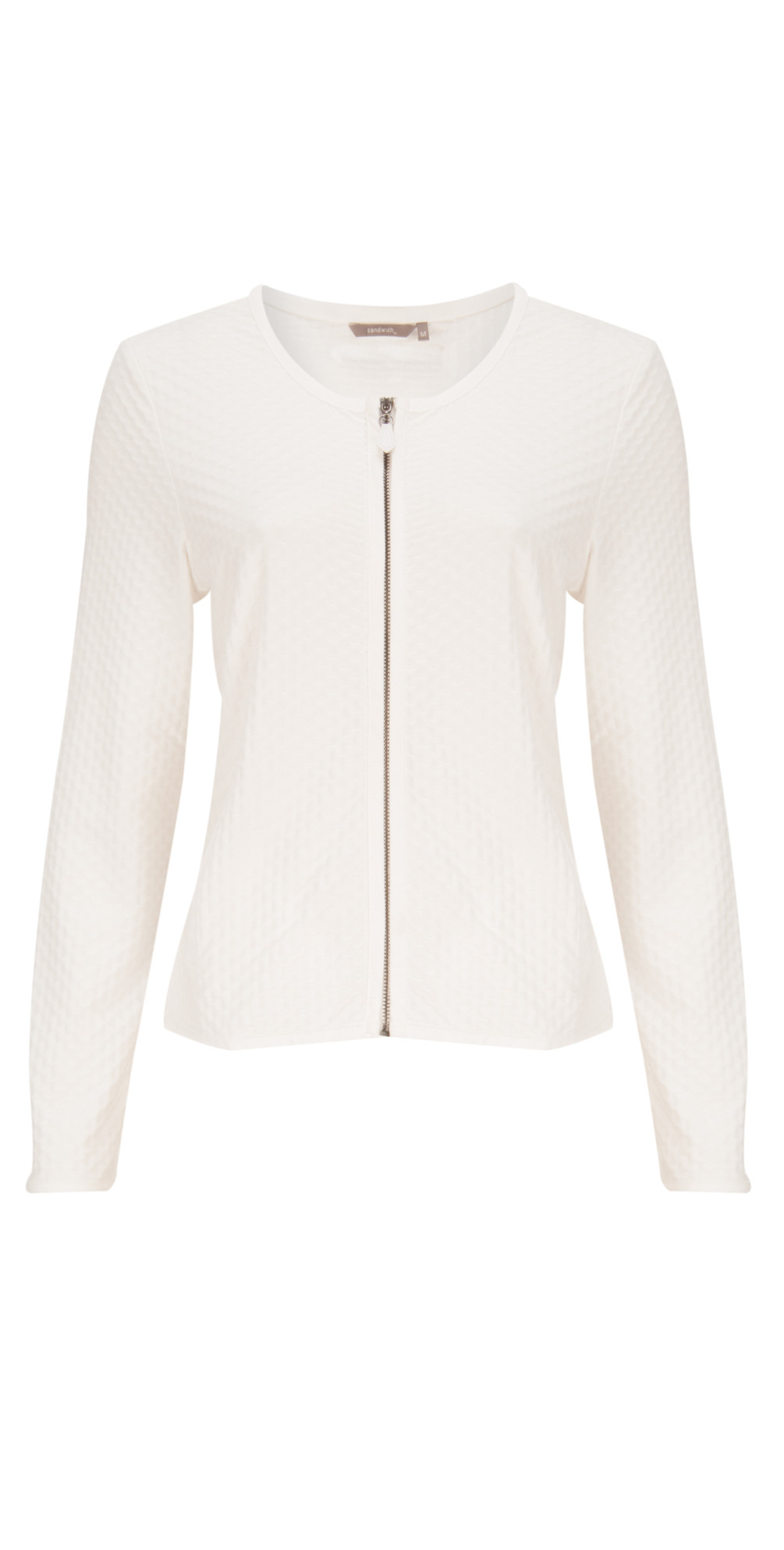 Structured Jersey Jacket main image