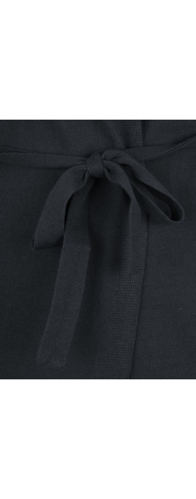 Sandwich Clothing Essentials Long Cotton Cardigan Dark Sky