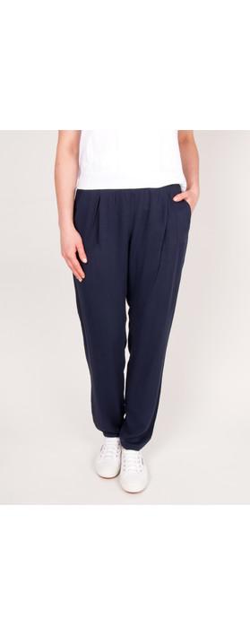 Sandwich Clothing Sienna Garment Wash Pants Navy