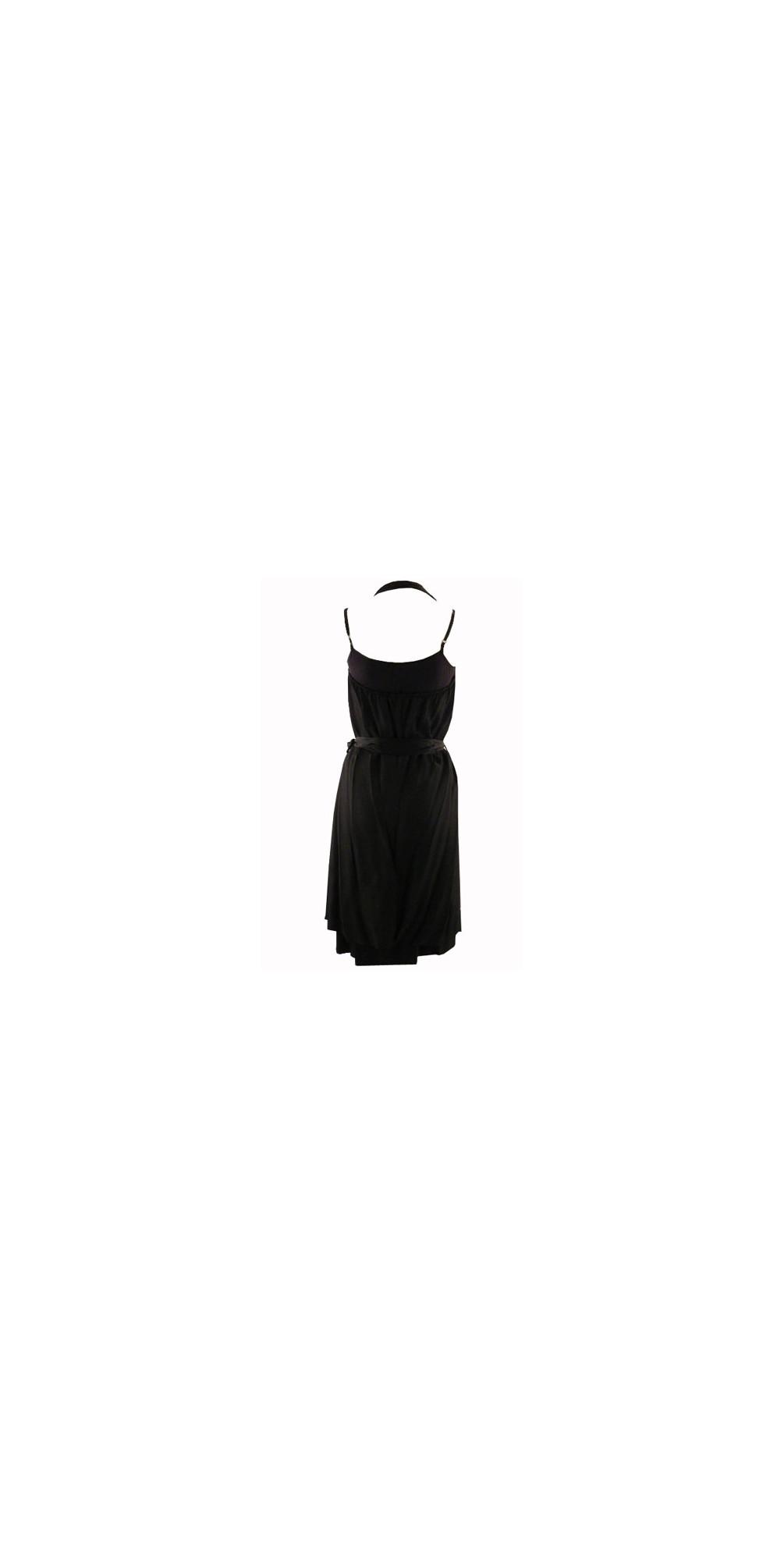 Shiny Slouch Neck Dress main image