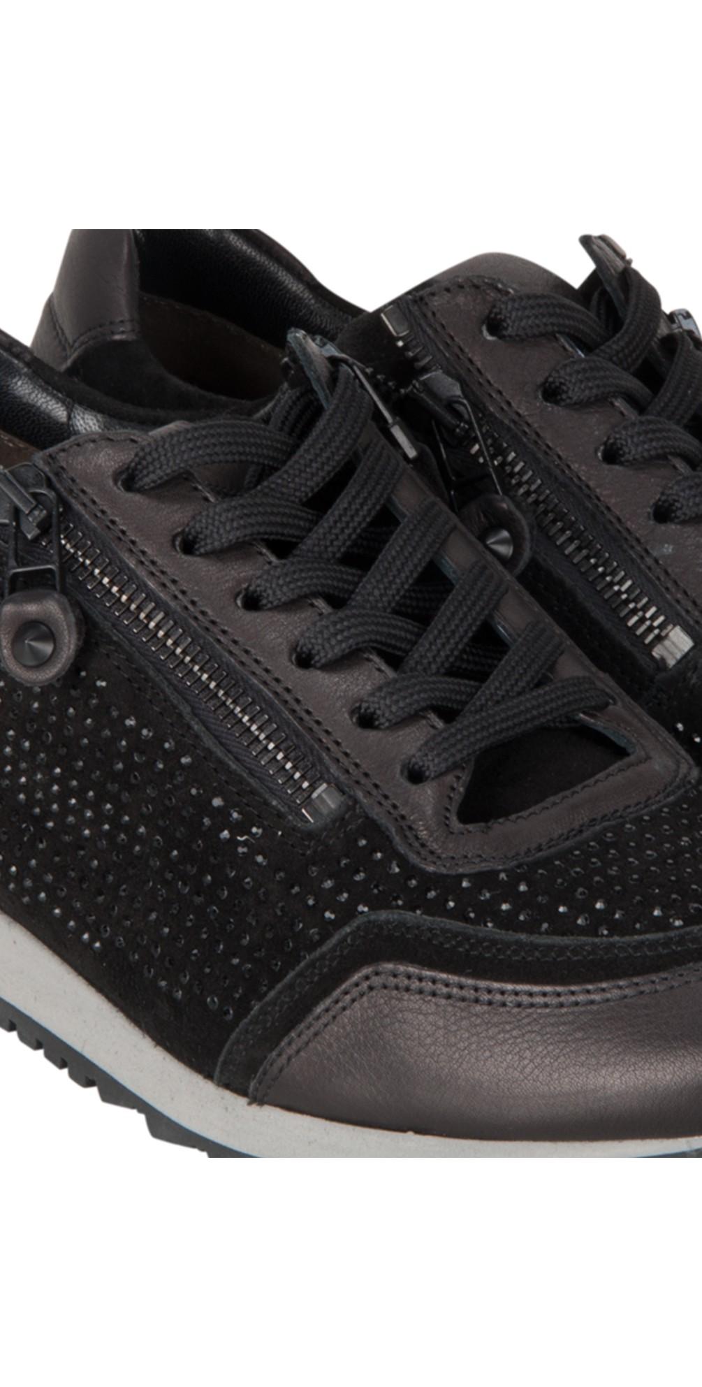 kennel und schmenger runner trainer shoe in schwarz. Black Bedroom Furniture Sets. Home Design Ideas