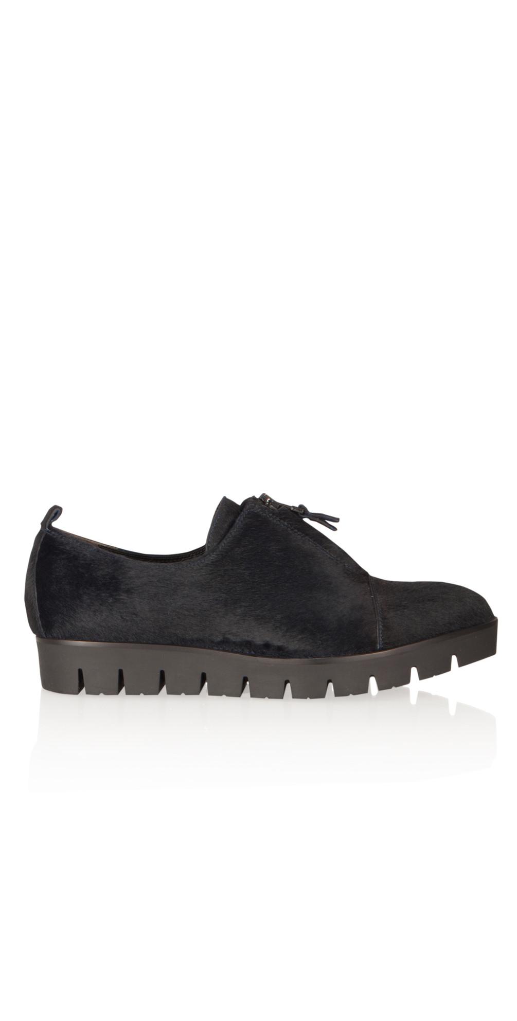 kennel und schmenger millia pony skin crepe sole shoe in. Black Bedroom Furniture Sets. Home Design Ideas