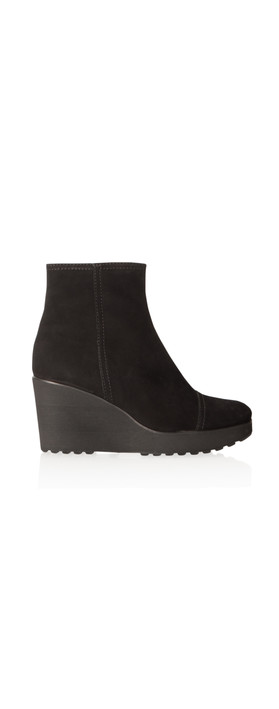 kennel und schmenger nala wedge ankle boot in schwarz. Black Bedroom Furniture Sets. Home Design Ideas