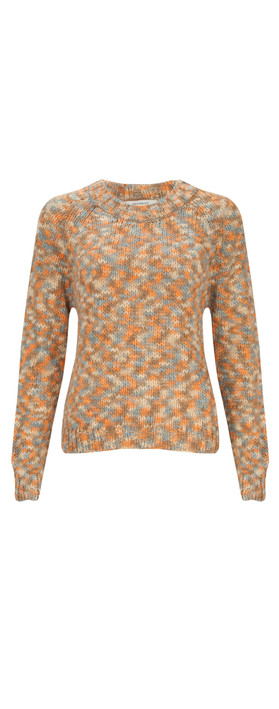 Sandwich Clothing Wool Mix Pullover Peach Bloom