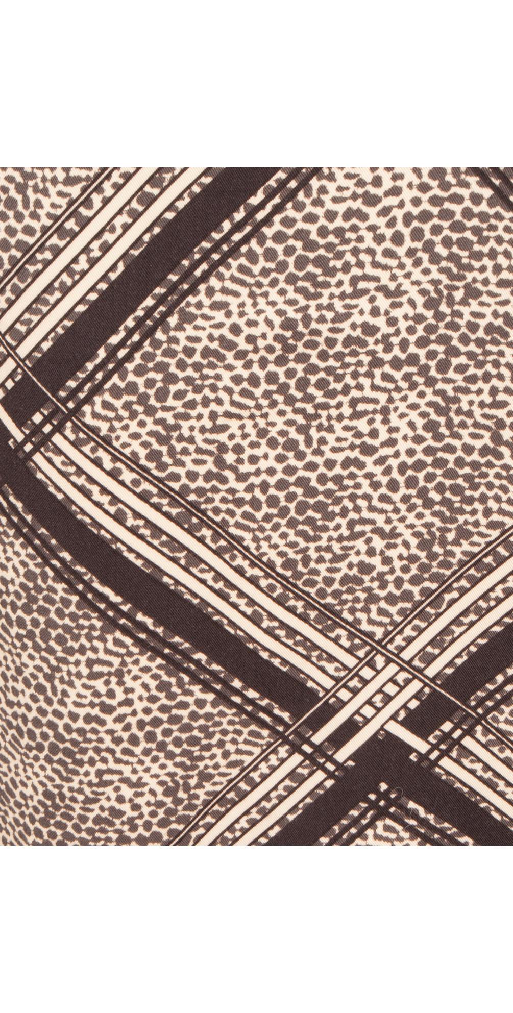 Animal Check Print Dress main image