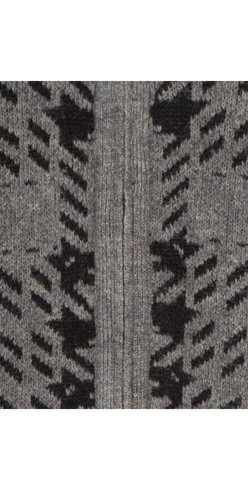 Soft Wool Jacquard Cardigan main image
