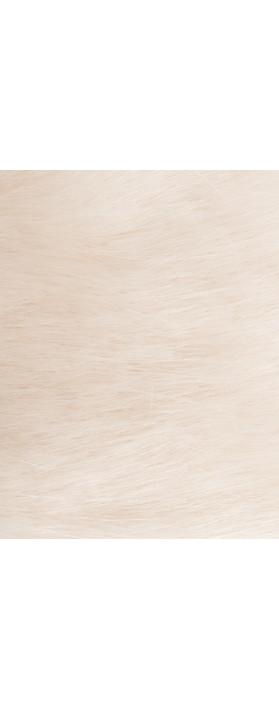 Pia Rossini Monroe Faux Fur Headband Almond
