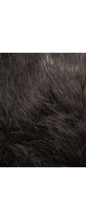 Pia Rossini Monroe Faux Fur Cuff Charcoal