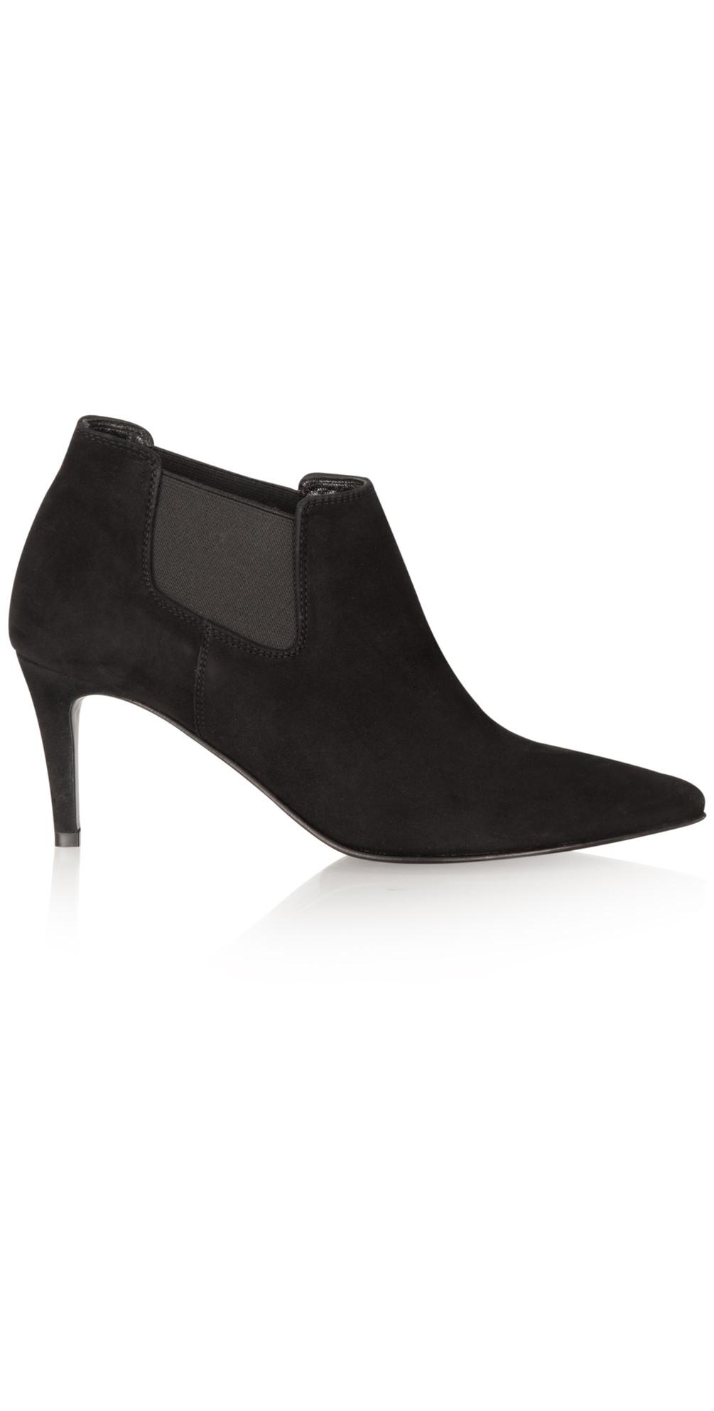 Ankle Boots Kitten Heel