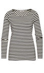 Sandwich Clothing Washed Chalk Striped Milano Top