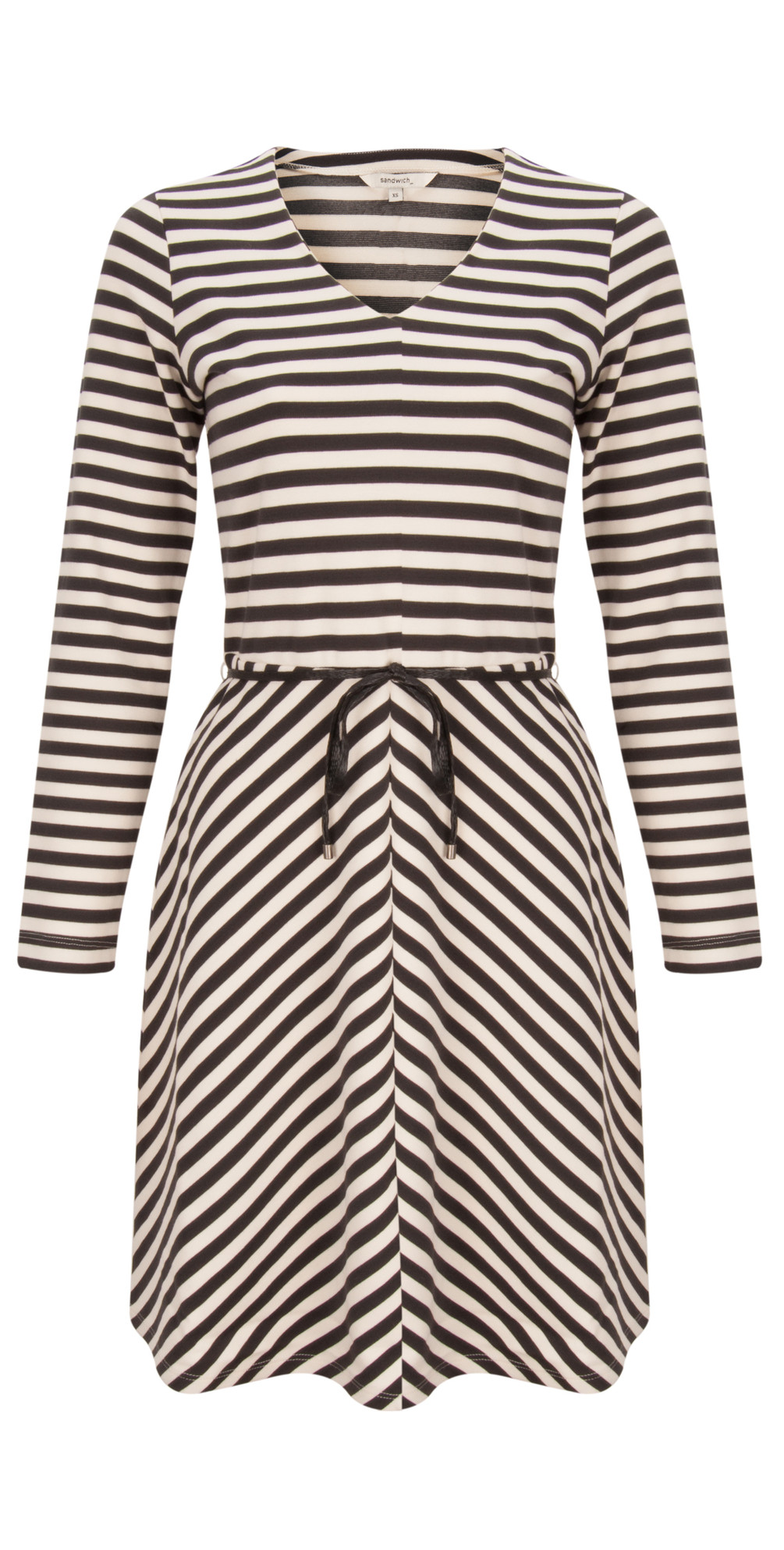 Striped Milano Dress main image
