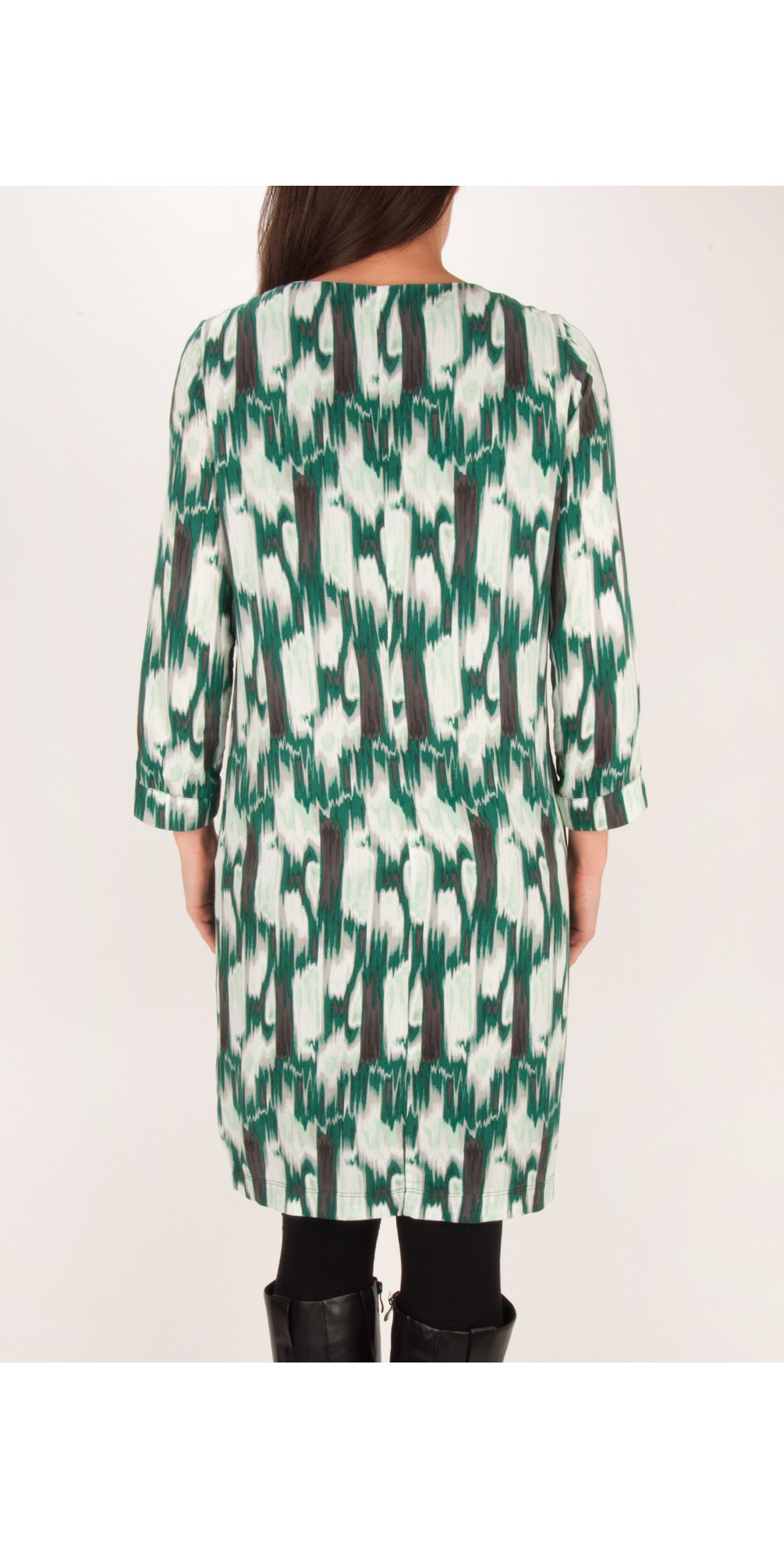 Ikat Print Dress main image