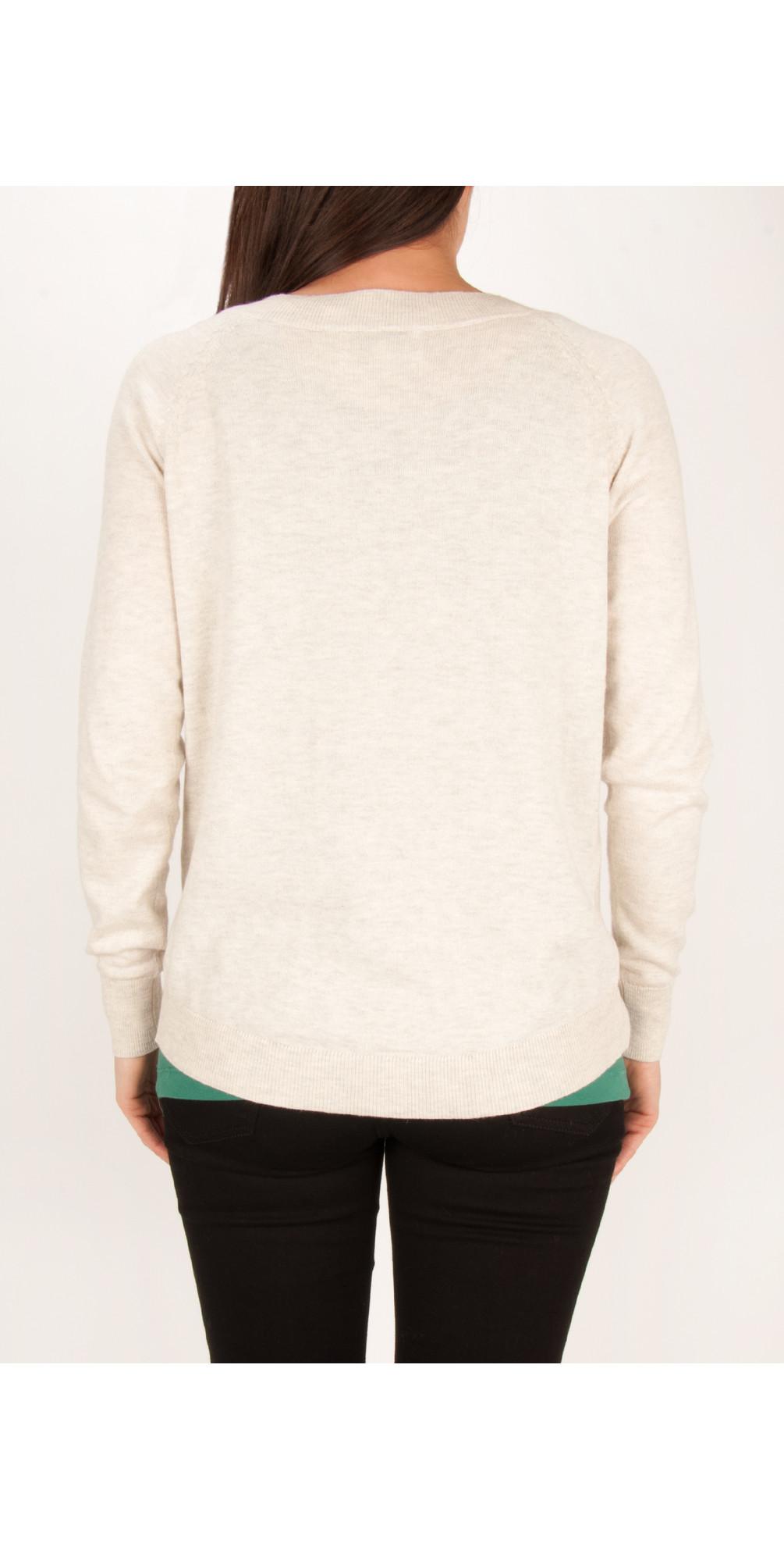 Cotton Alpaca Lightweight Pullover main image