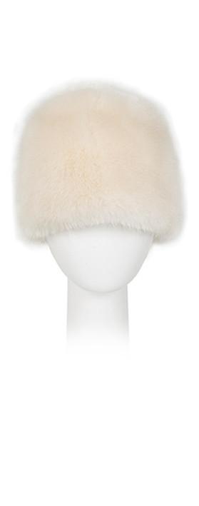 Pia Rossini Monroe Faux Fur Russian Hat Almond