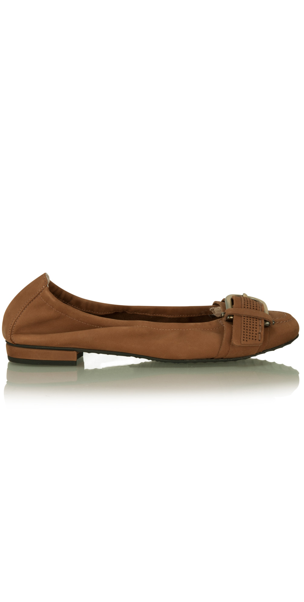 kennel und schmenger malu nubuk buckle shoe in cognac. Black Bedroom Furniture Sets. Home Design Ideas