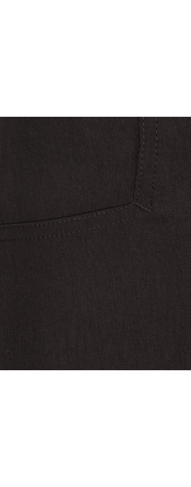 Robell Trousers Rose 09 7/8 Narrow Cropped Trouser Black