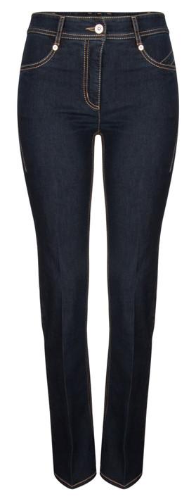 Robell Trousers Joella Slim Fit Flare Jean Dark Navy