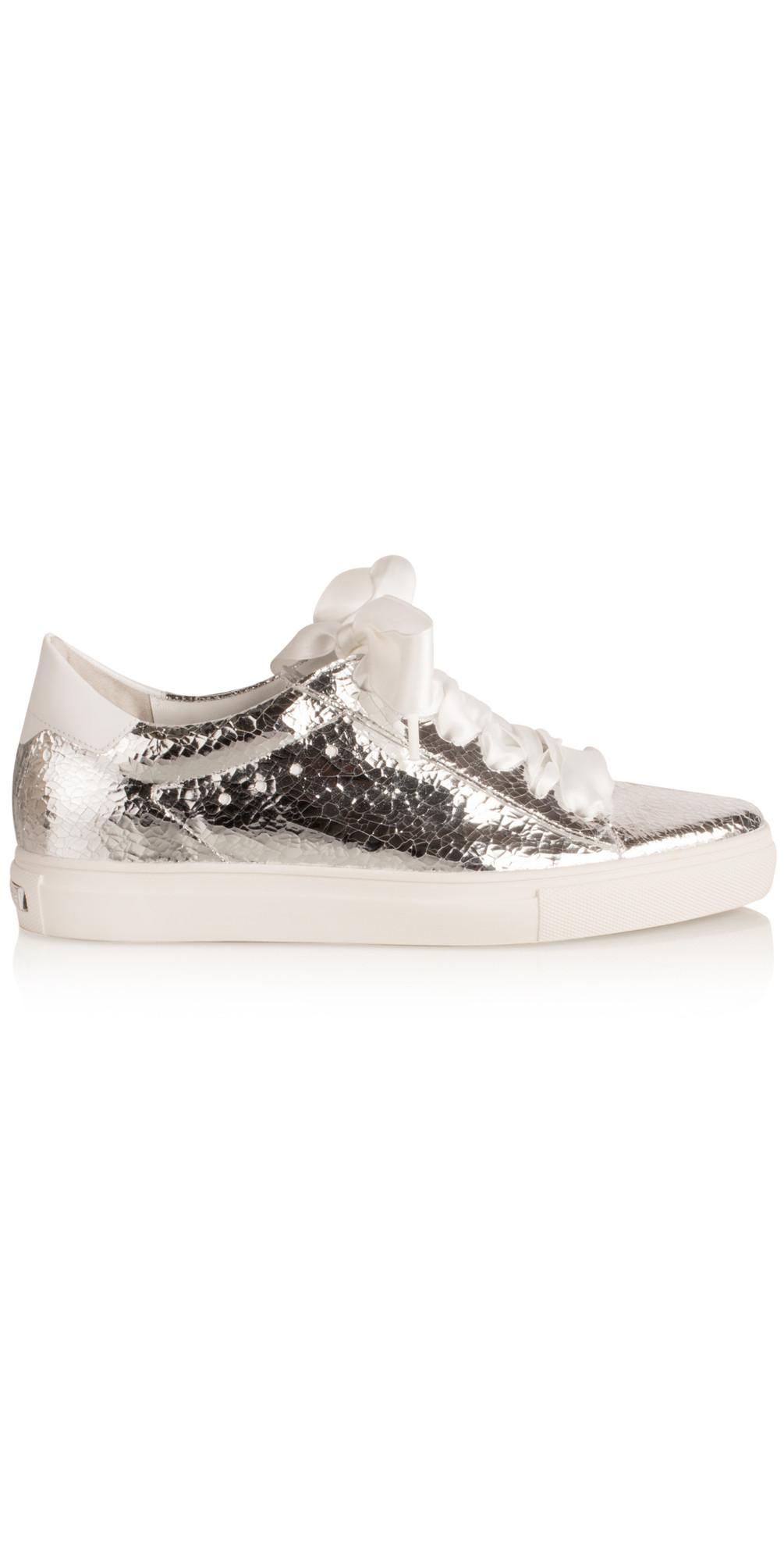 kennel und schmenger scoop flash trainer shoe in silver. Black Bedroom Furniture Sets. Home Design Ideas