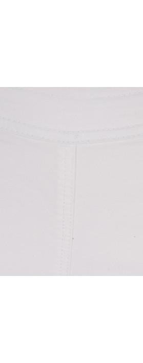 Sandwich Clothing Cotton Twill Tregging Pure White