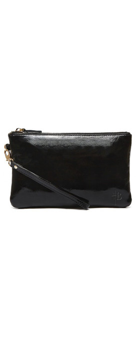 HButler Mighty Purse Wristlet Glossy Black
