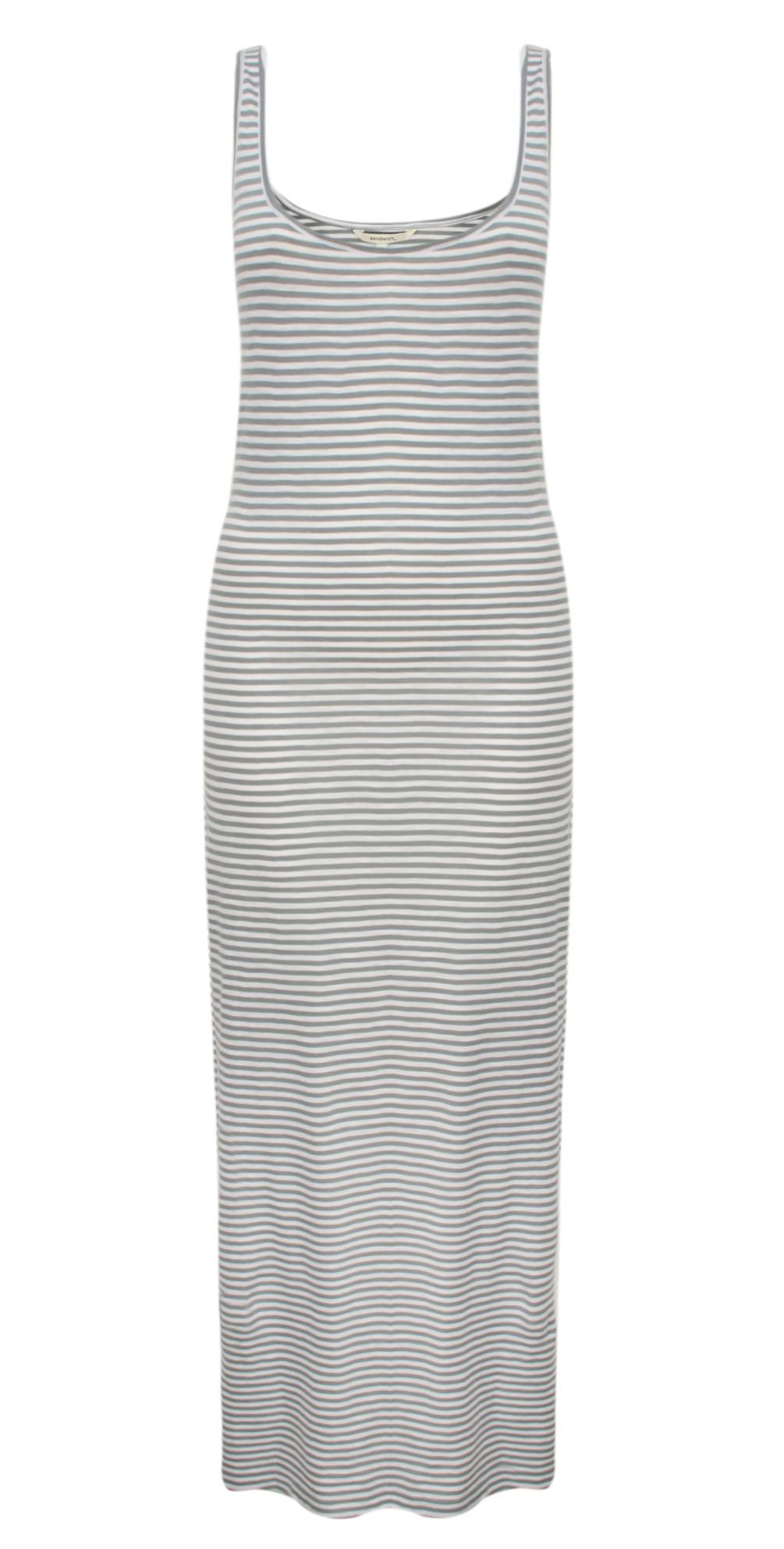 Striped Jersey Maxi Dress  main image
