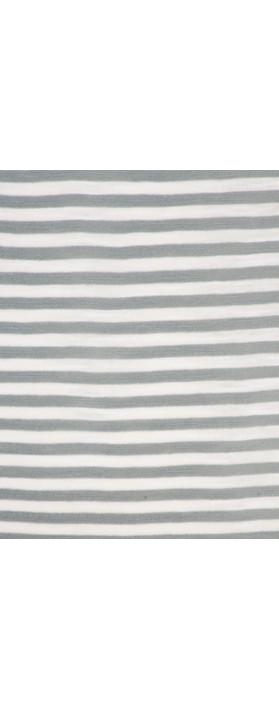 Sandwich Clothing Striped Jersey Maxi Dress  Blue Steel