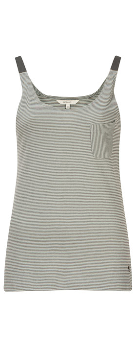 Sandwich Clothing Structured Stripe Top Light Dove