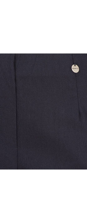 Robell Trousers Marie 07 Cropped Trouser Navy