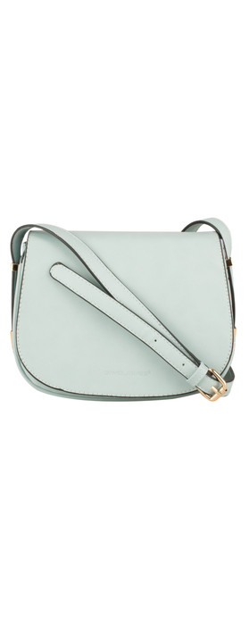 Nova Leathers Saddle Bag Pale Blue