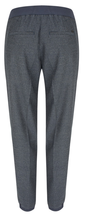 Sandwich Clothing Tailored Casual Trouser Blue Nights