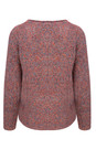 Sandwich Clothing Stone Red Soft Textured Knit Pullover