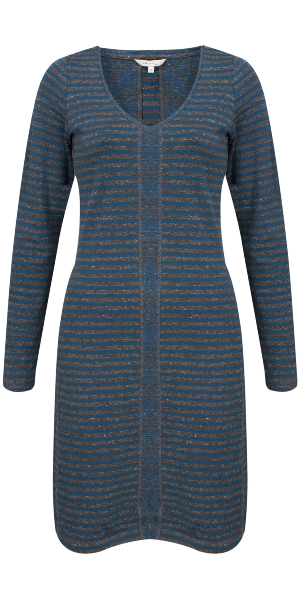 Double Face Striped Jersey Dress main image