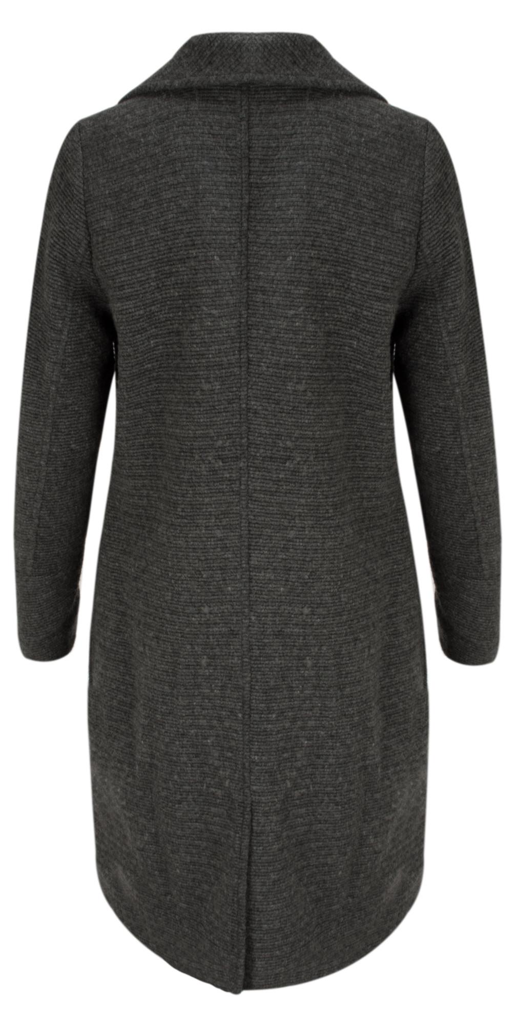 Longline Wool Coat main image