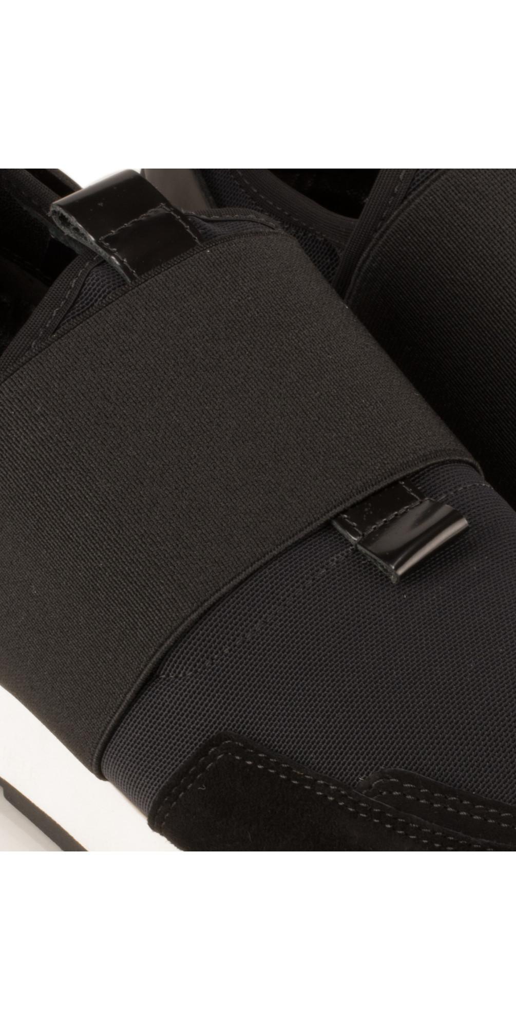 kennel und schmenger racer trainer shoe in schwarz. Black Bedroom Furniture Sets. Home Design Ideas