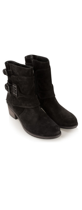 kennel und schmenger ambra buckle ankle boot in schwarz. Black Bedroom Furniture Sets. Home Design Ideas