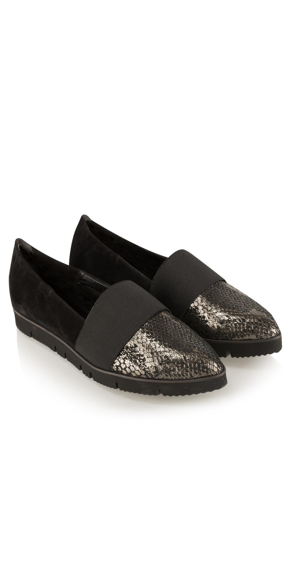 kennel und schmenger pia x goju shoe in schwarz. Black Bedroom Furniture Sets. Home Design Ideas