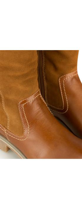 Tamaris  Leather Sympatex Long Boot Nut