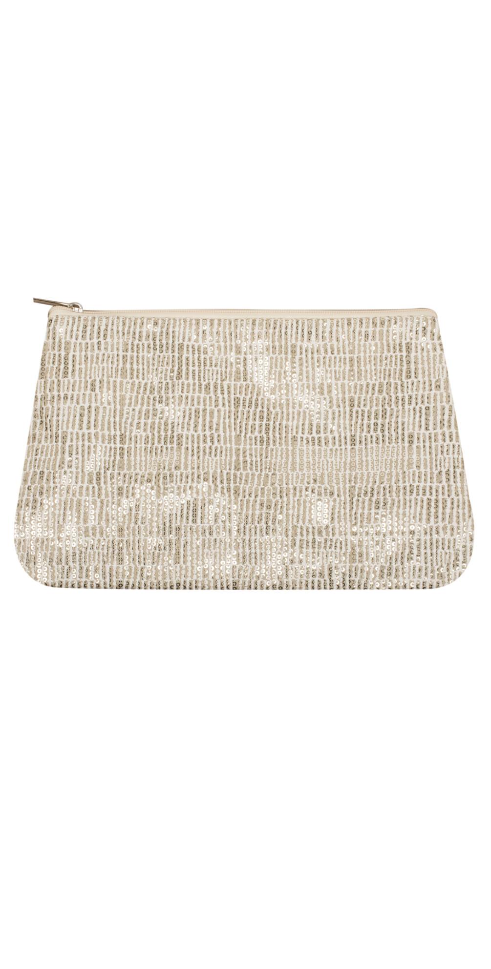 Sequin Zip Bag main image