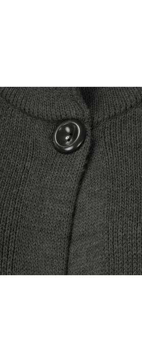 Amazing Woman Bailee Cardigan Jacket Charcoal