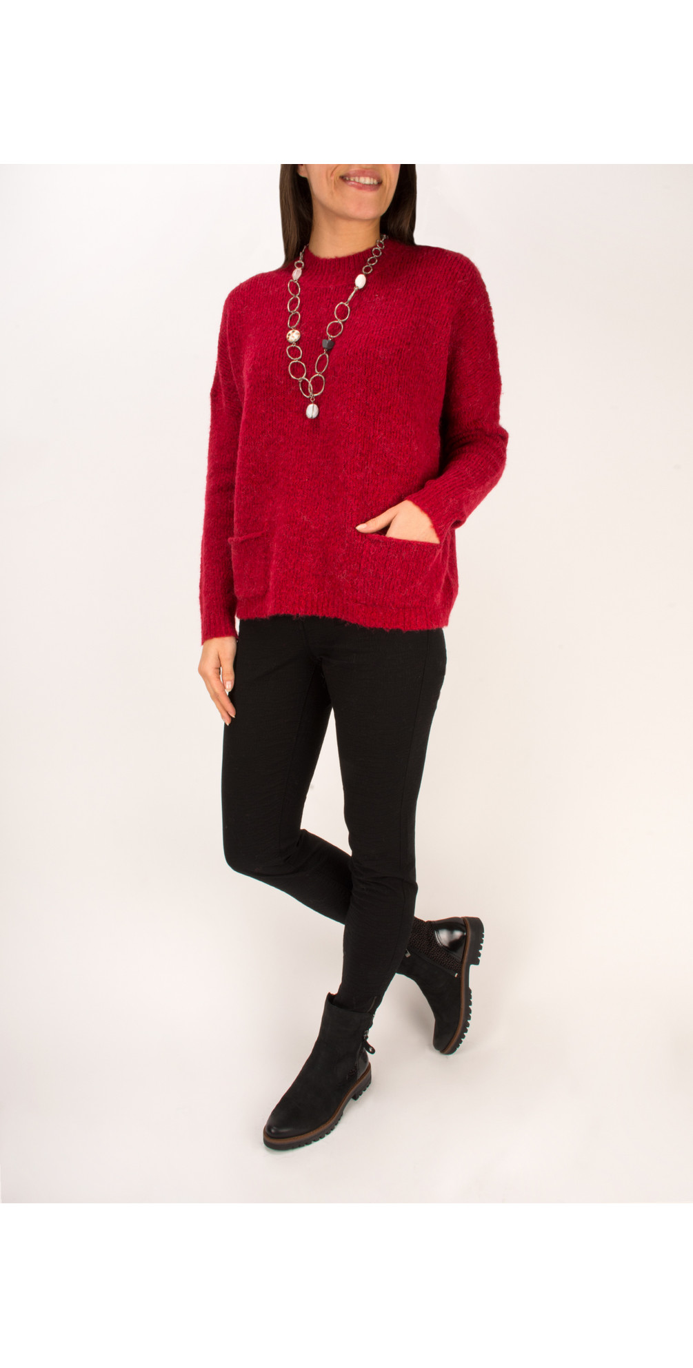 Alpaca Knit Pullover main image