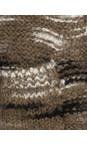 Sandwich Clothing Natural Camel Space Dye Slub Cardigan