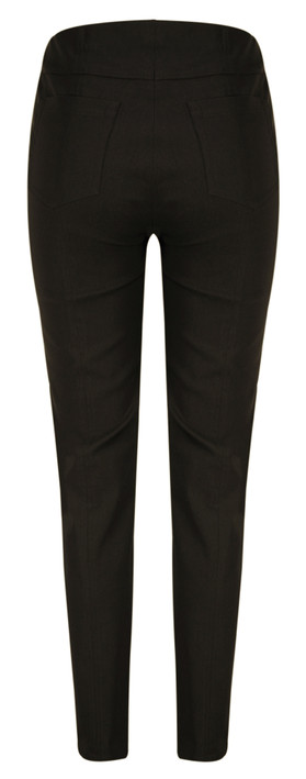 Robell Trousers Bella 78cm Slim Fit Trouser Chocolate Brown