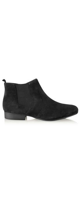 Tamaris  Suede Ankle Boot Black