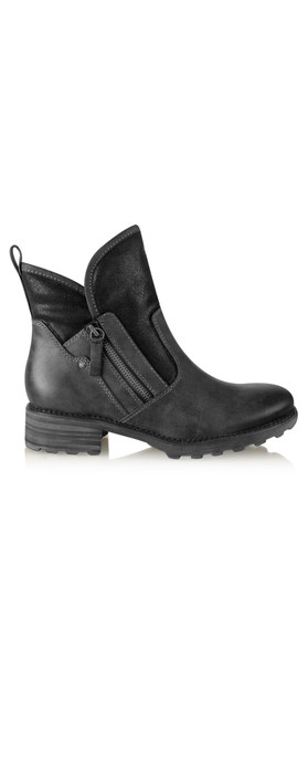 Tamaris  Urban Chunky Imit Boot Black